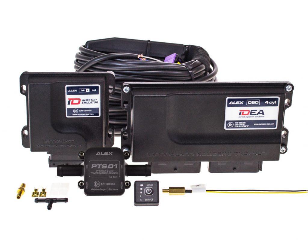 ALEX IDEA přímé vstřikování LPG pro motory TSI, FSI, GDI, Ecoboost