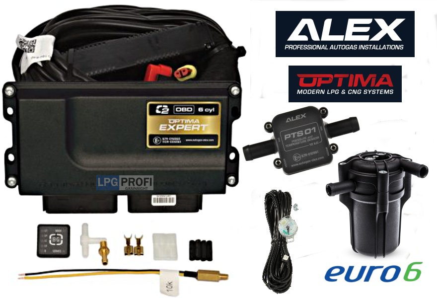 Sada ALEX OPTIMA EXPERT OBD